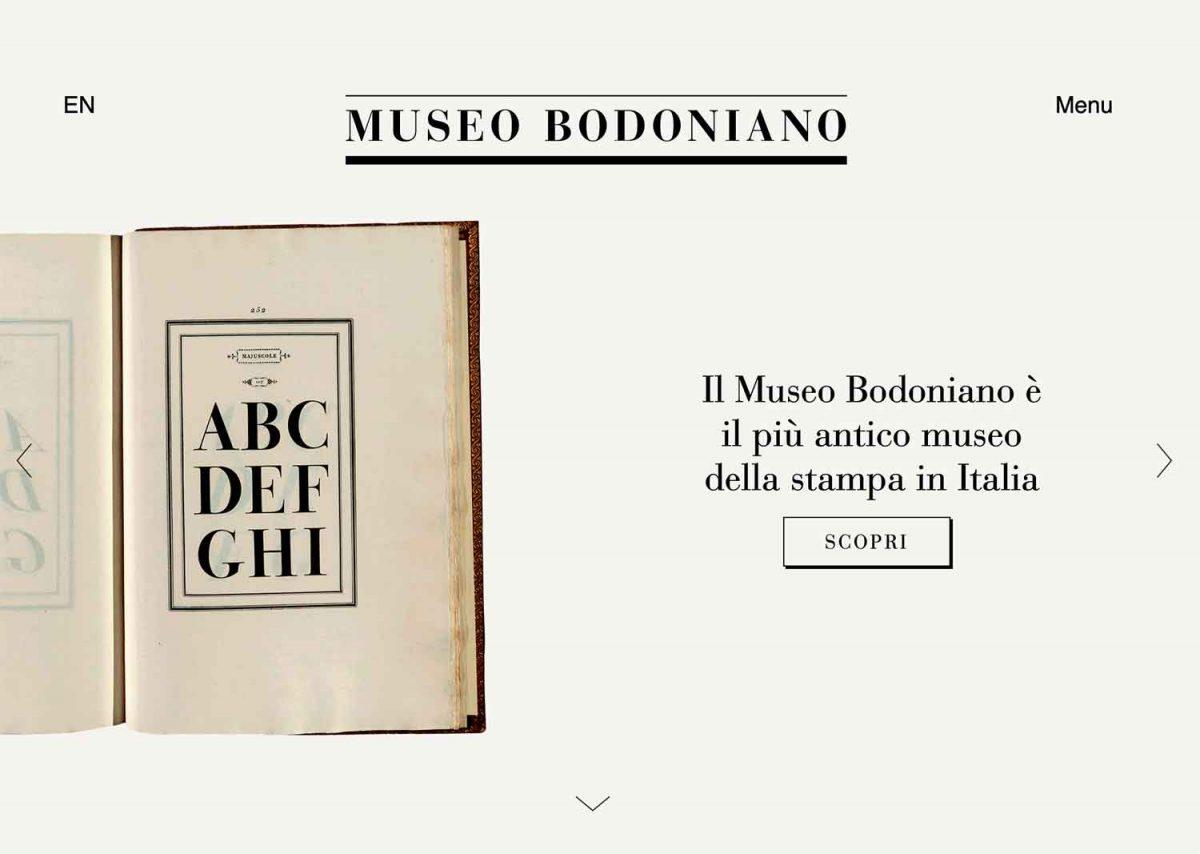 museo bodoniano - sito home page